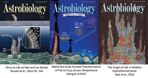 Astrobiology covers