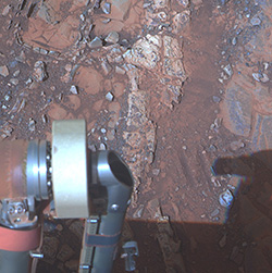 Endeavour Crater clay