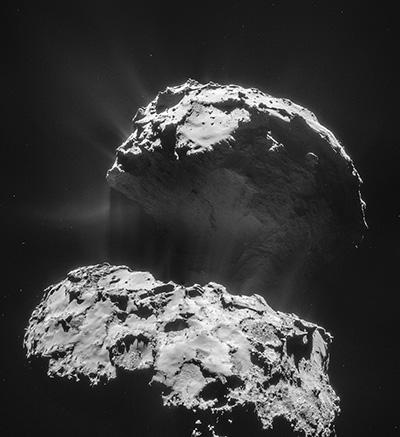 Image of Comet 67P