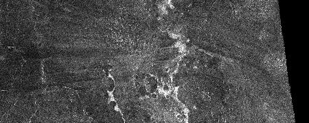 SAR image of Venus