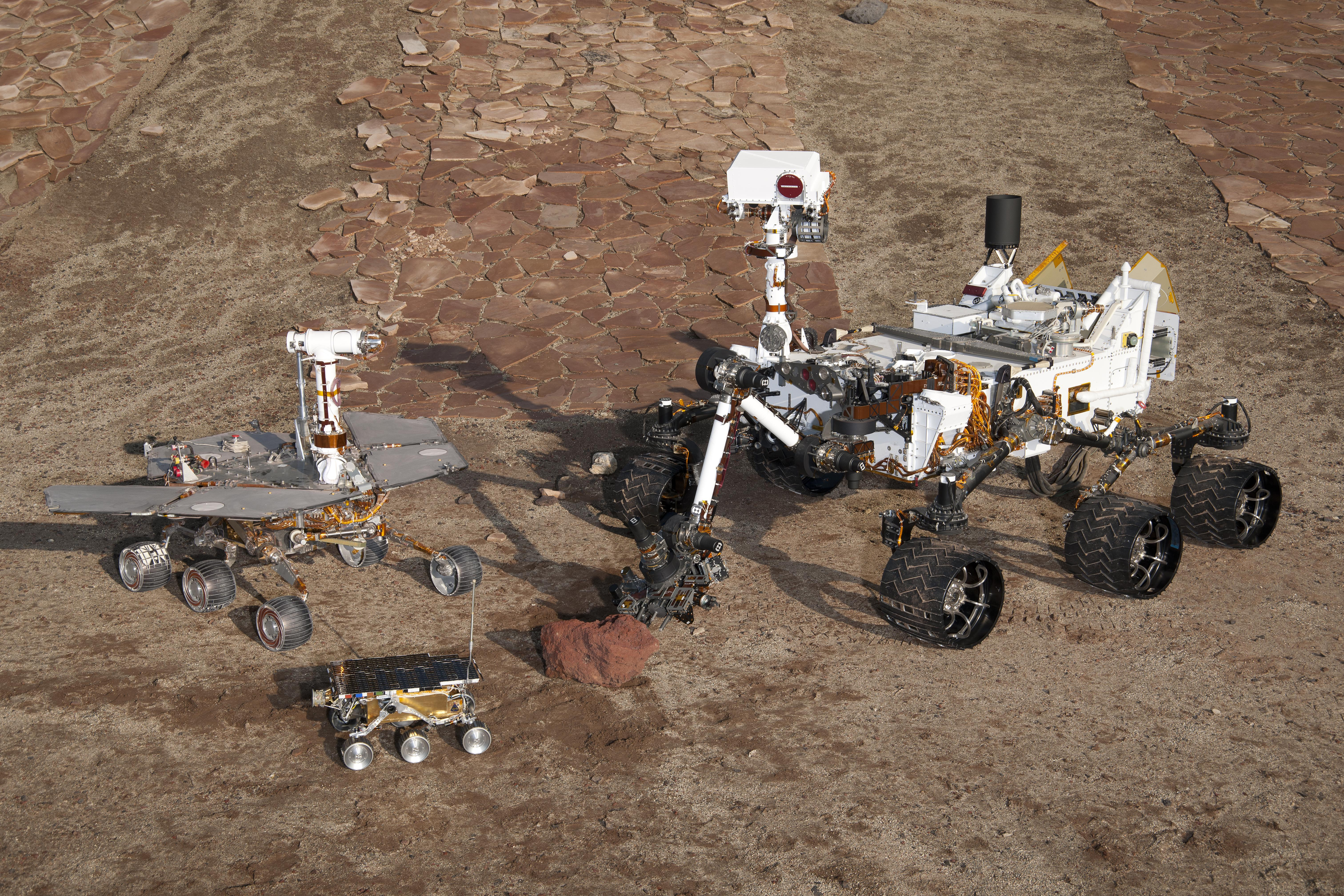 Image of In-Situ Planetary Exploration Systems