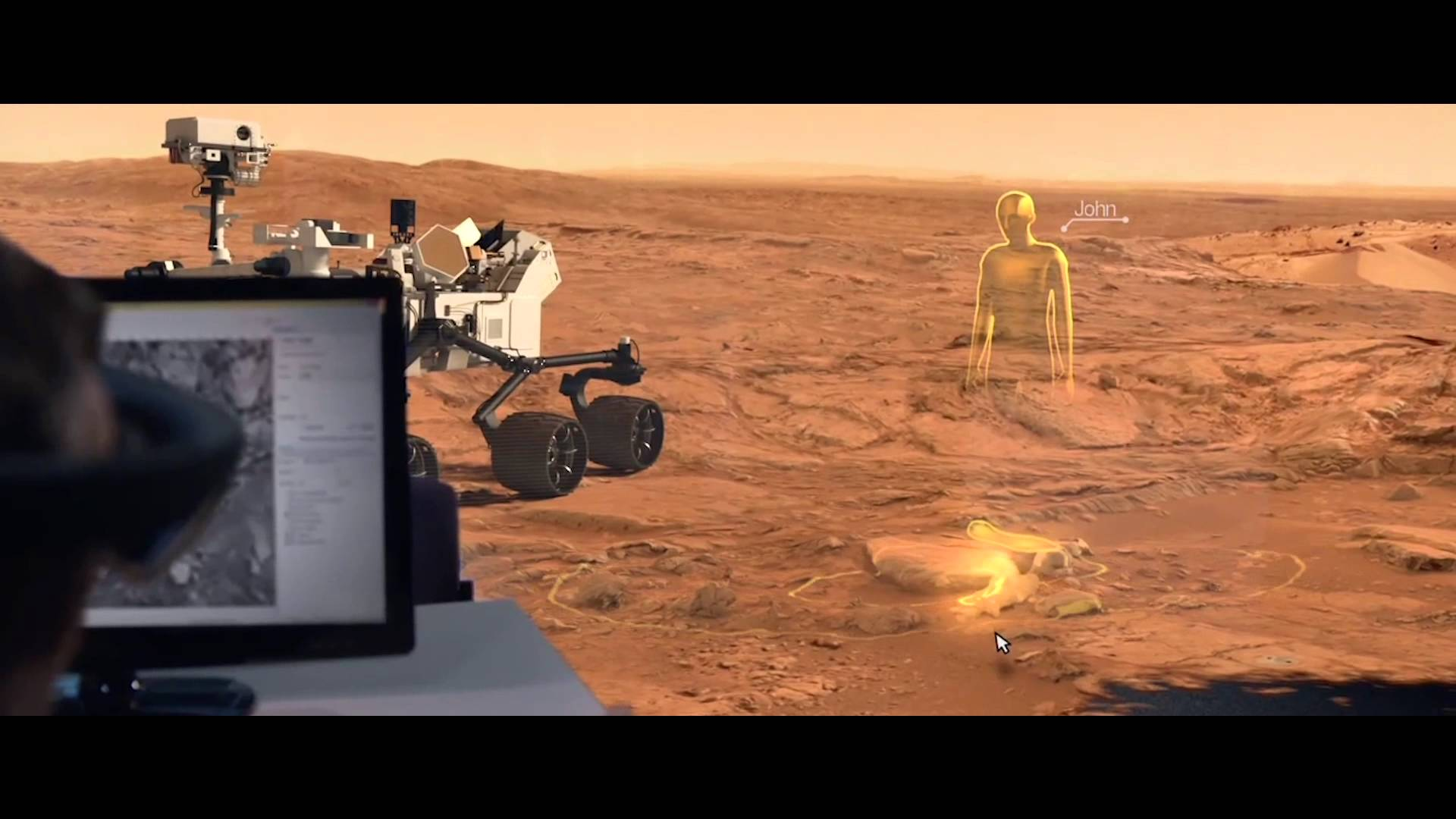 Image of OnSight on Mars