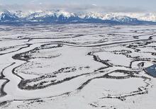 Image of Frozen Alaskan surface