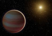 Illustration of brown dwarf