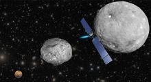 Image of Dawn Mission to the Asteroid Belt