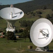 Image of NASA's Deep Space Network: Our Link to Spacecraft around the Solar System