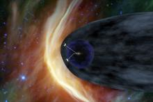 Image of Voyager Spacecraft: Humanity's Farthest Journey