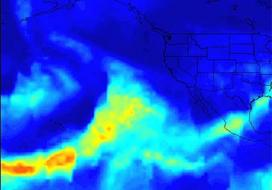 Series of Storms Battering California Tracked by NASA's AIRS Instrument