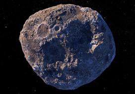 Asteroid Psyche Illustration