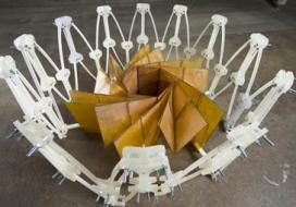 Spacecraft origami