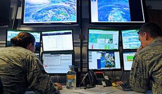 Military weather forecasters